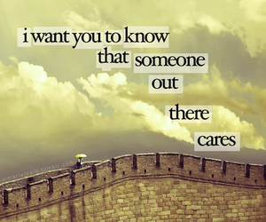 care and quote image