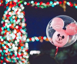 amusement park, disney land, and light up image