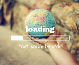 travel, world, and earth image