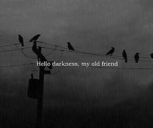 Darkness, dark, and friends image