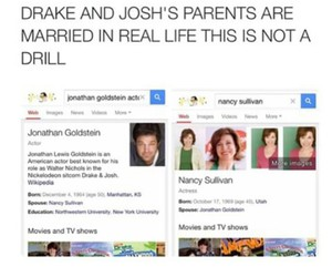 funny, drake and josh, and goals image