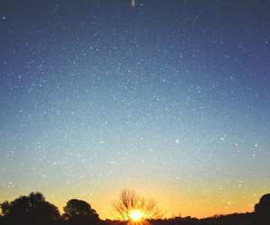 stars, sun, and hipster image
