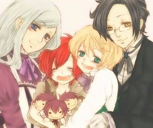 black butler, claude, and alois image