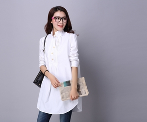 loose fit blouse, loose fit shirt, and cotton tunics image