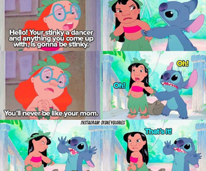 lilo and stitch, disney, and funny image