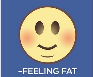 emotion, fat, and smiley image