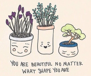 plants, beautiful, and quotes image