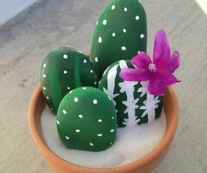 aesthetic, cactus, and diy image