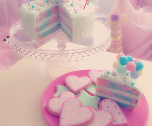 cake, pastel, and Cookies image