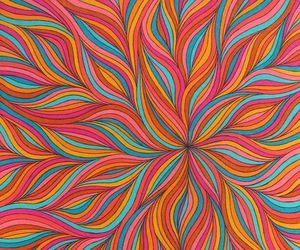 wallpaper, colors, and art image