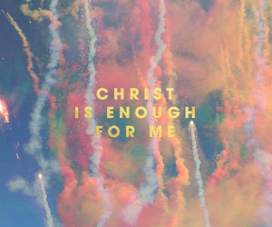 Christ, enough, and god image