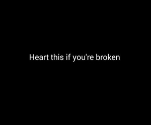 broken, heart, and life image