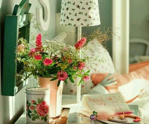 vintage, decor, and girly image