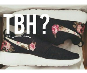 nikes and tbh image