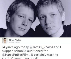 audition, harry potter, and twins image