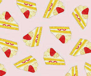 wallpaper, cake, and pattern image