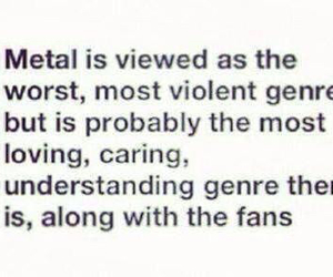 metal, fans, and caring image