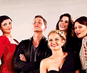 once upon a time, Emilie de Ravin, and Jennifer Morrison image