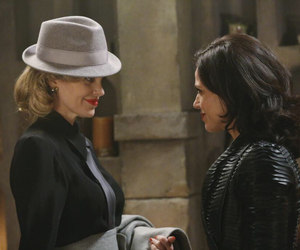once upon a time, maleficent, and regina mills image