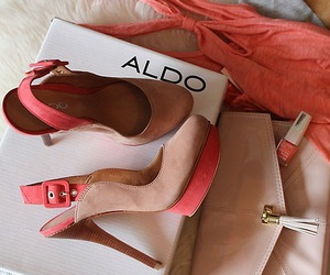 pink, shoes, and aldo image