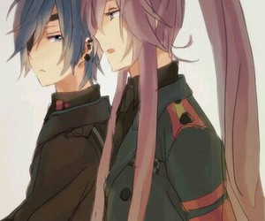 lovely, vocaloid, and kaito shion image