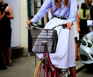 bicycle, chic, and fashion image