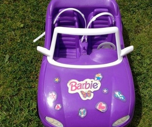 barbie, car, and doll image