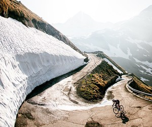 climb, cycling, and italy image