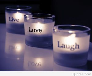 love, live, and laugh image