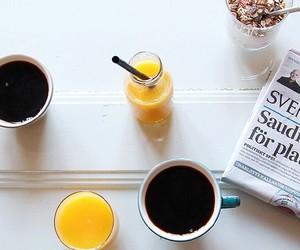 coffee, happiness, and juice image