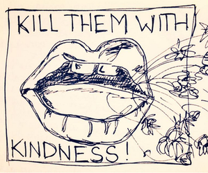 quotes, kindness, and art image