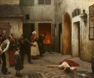jakub schikaneder and murder in the house image