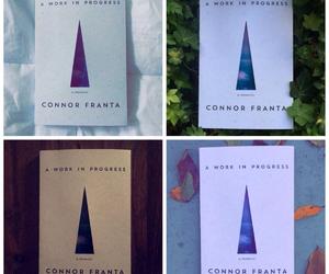 book, connor franta, and snapchat image