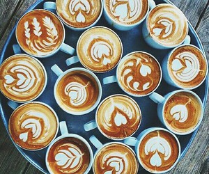 coffee, cups, and happy image