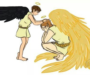 angel, gabriel, and castiel image