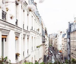 city, travel, and paris image