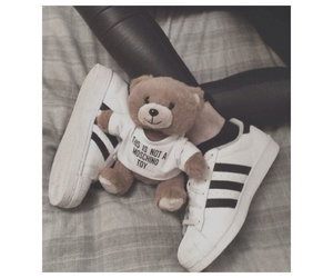 adidas, bear, and me image