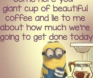 coffee and minions image