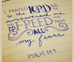 fear and prayer image