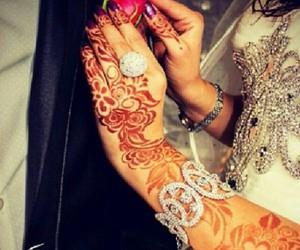 henna, mehndi, and arabic beautiful henna image