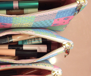 bag, beauty, and cosmetics image