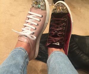 sneakers, miumiu, and pink image