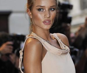 model, rosie huntington-whiteley, and lips image