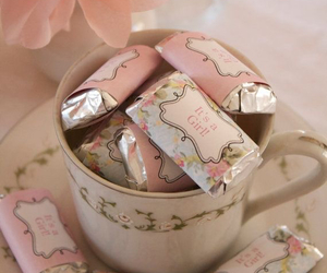 pink, vintage, and candy image
