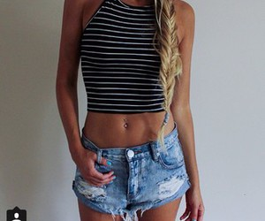 shorts, cute outfit, and blonde image