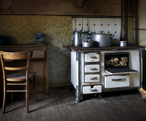abandoned, cooker, and derelict image