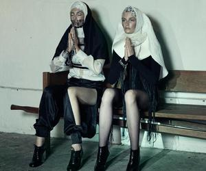 nun, fashion, and religion image