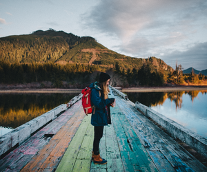 adventure, lake, and lovely image