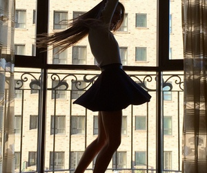 dancing, girl, and lovely image