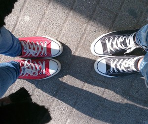 converse, shoes, and spring image